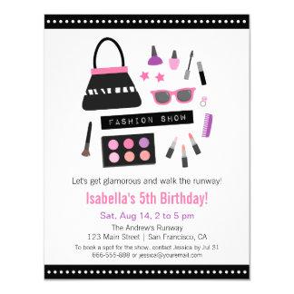 Invitaciones de la fiesta de cumpleaños del invitación 10,8 x 13,9 cm