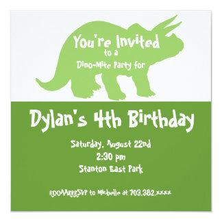 Invitaciones de la fiesta de cumpleaños del invitación 13,3 cm x 13,3cm