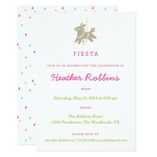 Invitaciones de la fiesta de graduación de la invitación 12,7 x 17,8 cm