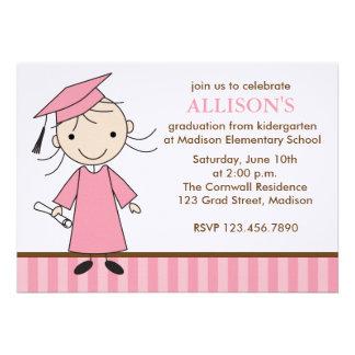 Invitaciones de la fiesta de graduación del chica anuncios
