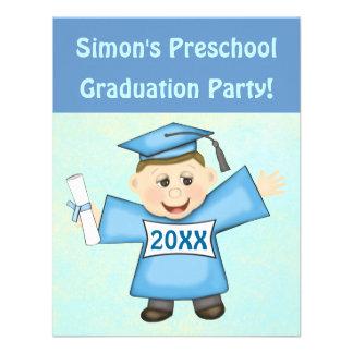 Invitaciones de la fiesta de graduación para el comunicados personalizados