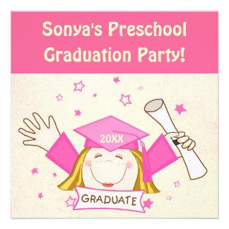 Invitaciones de la fiesta de graduación para la comunicados