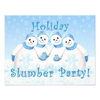 Invitaciones de la fiesta de pijamas del día de fi invitaciones personales