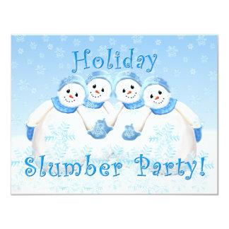 Invitaciones de la fiesta de pijamas del día de invitación 10,8 x 13,9 cm