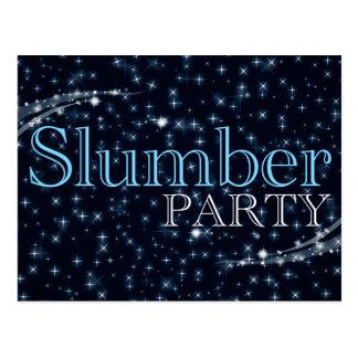 invitaciones de la fiesta de pijamas: starshine
