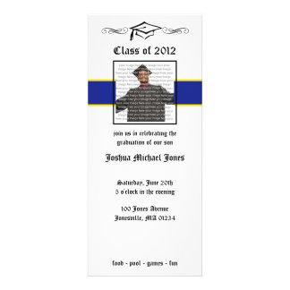 Invitaciones de la graduación de la escuela del az invitaciones personalizada