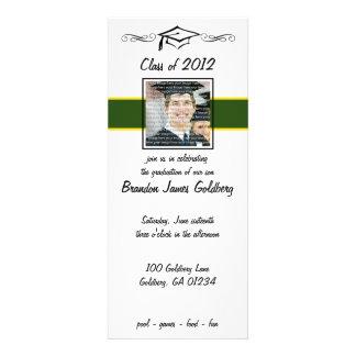 Invitaciones de la graduación de la escuela del ve anuncios personalizados