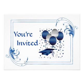 Invitaciones de la graduación de la universidad invitación personalizada