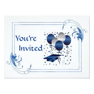 Invitaciones de la graduación de la universidad invitación 13,9 x 19,0 cm