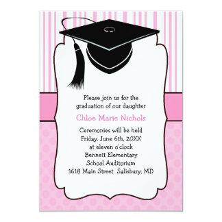 Invitaciones de la graduación de los niños (para invitación 12,7 x 17,8 cm