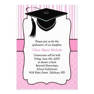 Invitaciones de la graduación de los niños (para u invitación