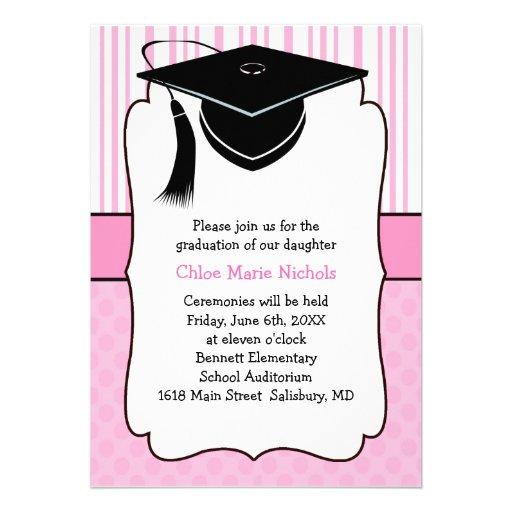 Invitacion De Graduacion Para Ninos