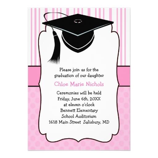 Invitaciones de la graduación de los niños (para u comunicado