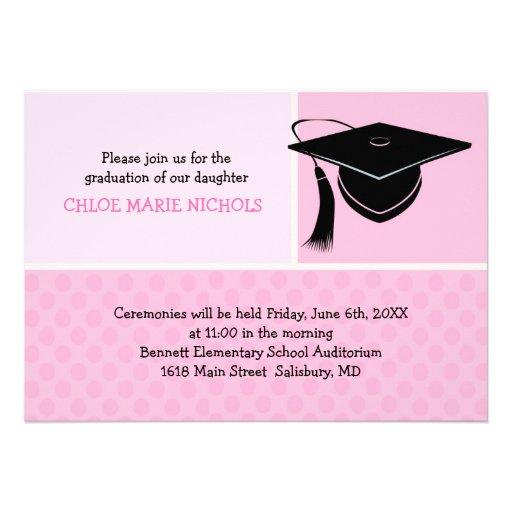 Kids Graduation Announcement