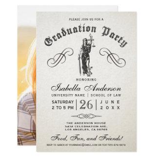 Invitaciones de la graduación del colegio de invitación 12,7 x 17,8 cm