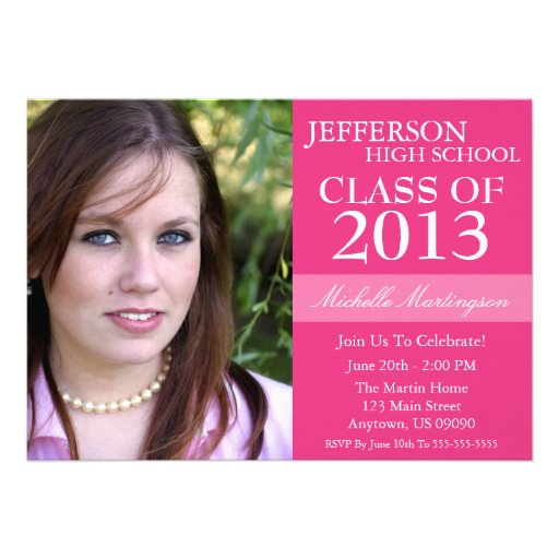 Master Degree Graduation Invitations