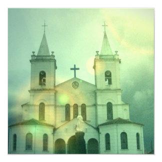Invitaciones de la iglesia cristiana invitación 13,3 cm x 13,3cm