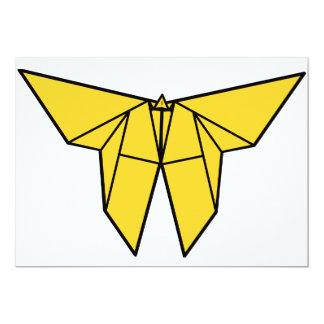 Invitaciones de la mariposa de Origami Invitación 12,7 X 17,8 Cm