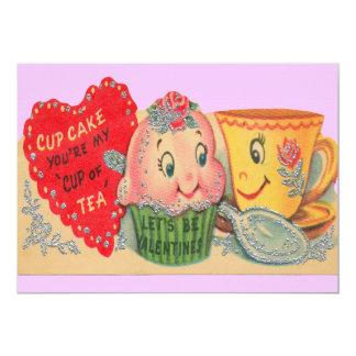 Invitaciones de la tarjeta del día de San Valentín Invitación 12,7 X 17,8 Cm