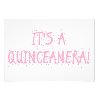 Invitaciones de Quinceanera