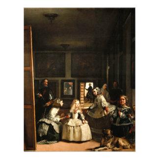 Invitaciones de Velázquez Las Meninas Comunicados Personalizados