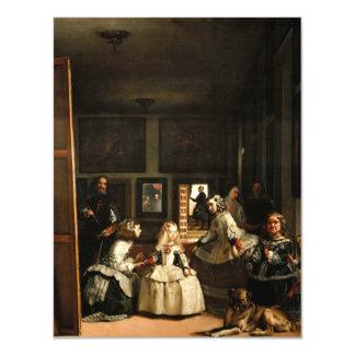 Invitaciones de Velázquez Las Meninas Invitación 10,8 X 13,9 Cm