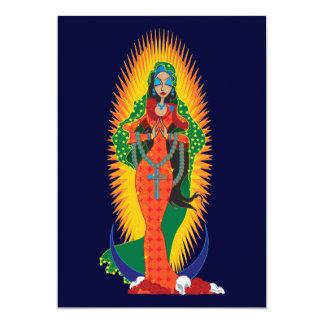 Invitaciones de Virgen de Guadalupe del La Invitación 12,7 X 17,8 Cm