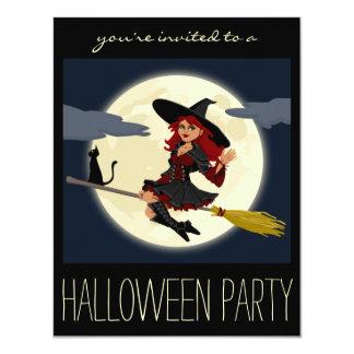 Invitaciones del adulto del fiesta de Halloween de Invitación 10,8 X 13,9 Cm
