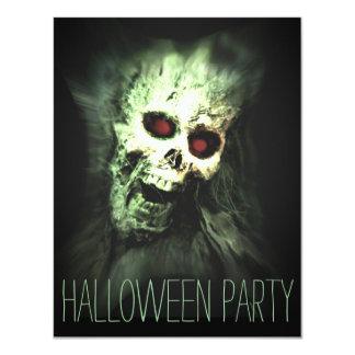 Invitaciones del adulto del fiesta de Halloween Invitación 10,8 X 13,9 Cm
