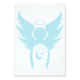 Invitaciones del ángel invitación 8,9 x 12,7 cm