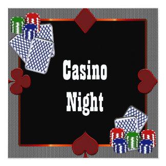 Invitaciones del baile de fin de curso del casino invitación 13,3 cm x 13,3cm