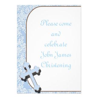 Invitaciones del bautizo del bautismo de la comuni invitación