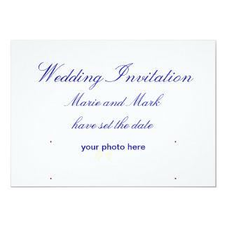 Invitaciones del boda anuncio personalizado