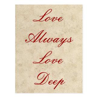 Invitaciones del boda - amor del amor siempre prof tarjetas postales