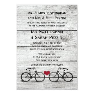 Compra tus invitaciones de boda con diseños de bicicletas en la gran selección de Zazzle.