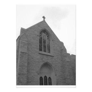 Invitaciones del boda de la iglesia