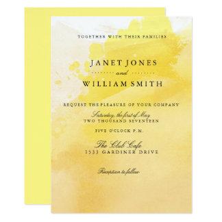 Invitaciones del boda de la sol del verano invitación 12,7 x 17,8 cm