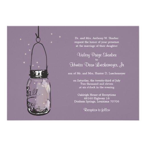 Invitaciones del boda de las luciérnagas y del tar anuncio