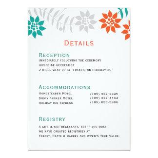 Invitaciones del boda de las vides 5x7