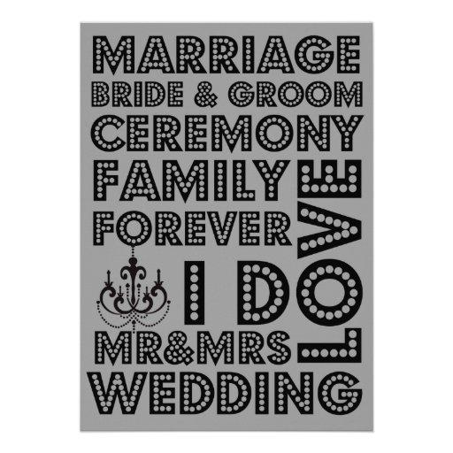 Invitaciones del boda del estilo de Vegas Anuncio