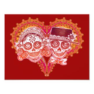 Invitaciones del boda del Los Novios Invitación 10,8 X 13,9 Cm