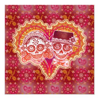 Invitaciones del boda del Los Novios Invitación 13,3 Cm X 13,3cm