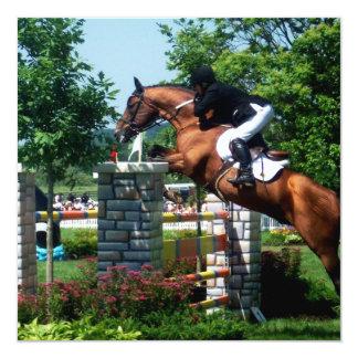 Invitaciones del caballo de Grand Prix Invitación 13,3 Cm X 13,3cm