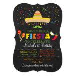 Invitaciones del cumpleaños de la pizarra de la invitación 12,7 x 17,8 cm