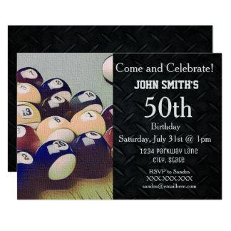 Invitaciones del cumpleaños de los hombres adultos