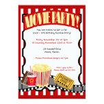 Invitaciones del cumpleaños del billete de grupo invitacion personal