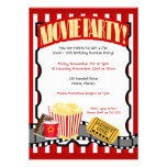 Invitaciones del cumpleaños del billete de grupo d invitacion personal
