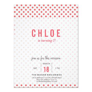 Invitaciones del cumpleaños del caballo invitación 10,8 x 13,9 cm