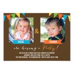 Invitaciones del cumpleaños del fiesta junto - invitaciones personales