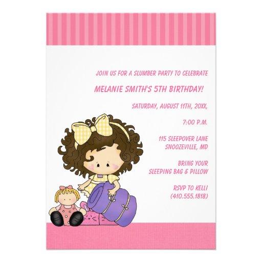 Invitaciones del cumpleaños y de la fiesta de pija invitación